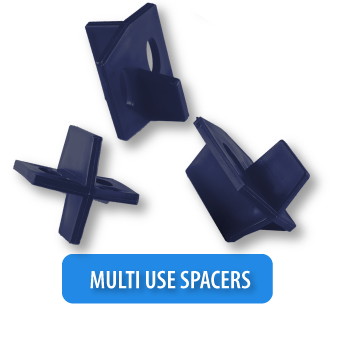 tile leveling system spacers
